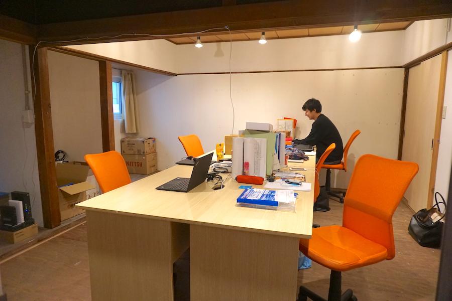 津別町のコワーキングスペース「JIMBA(ジンバ)」のシェアオフィス
