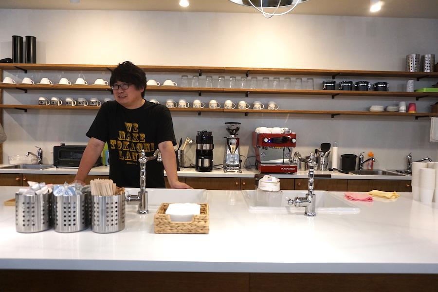 帯広市の事業創発拠点「とかちのやりたい実現カフェ LAND(ランド)」のキッチン