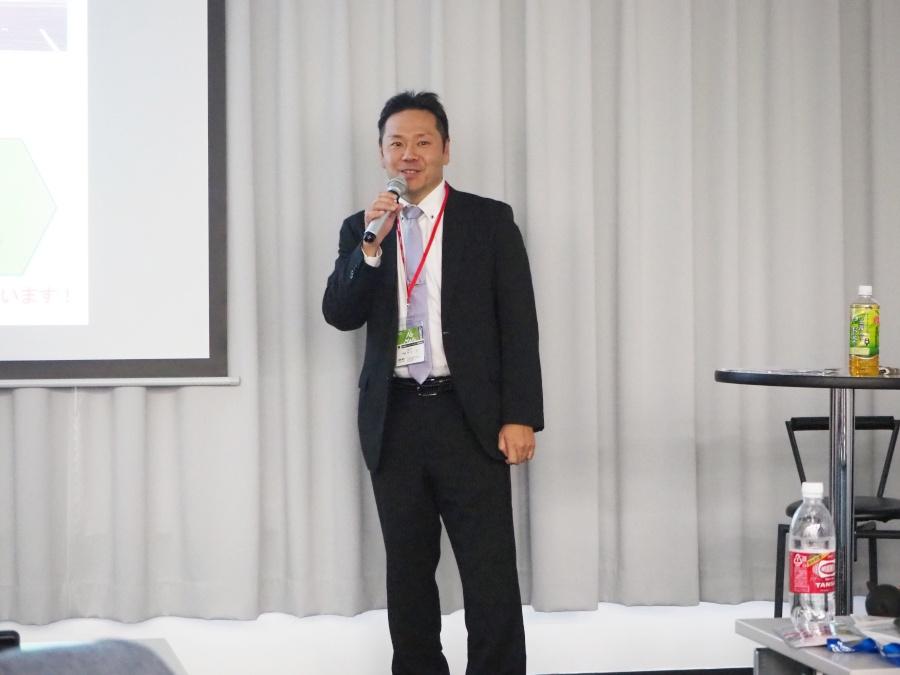 北海道システム・ サイエンス株式会社 岡田氏