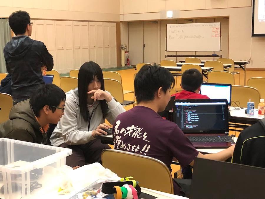 U-16プログラミングコンテスト釧路大会 事前講習会の様子