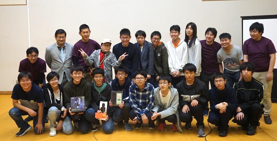 U-16プログラミングコンテスト釧路大会の様子