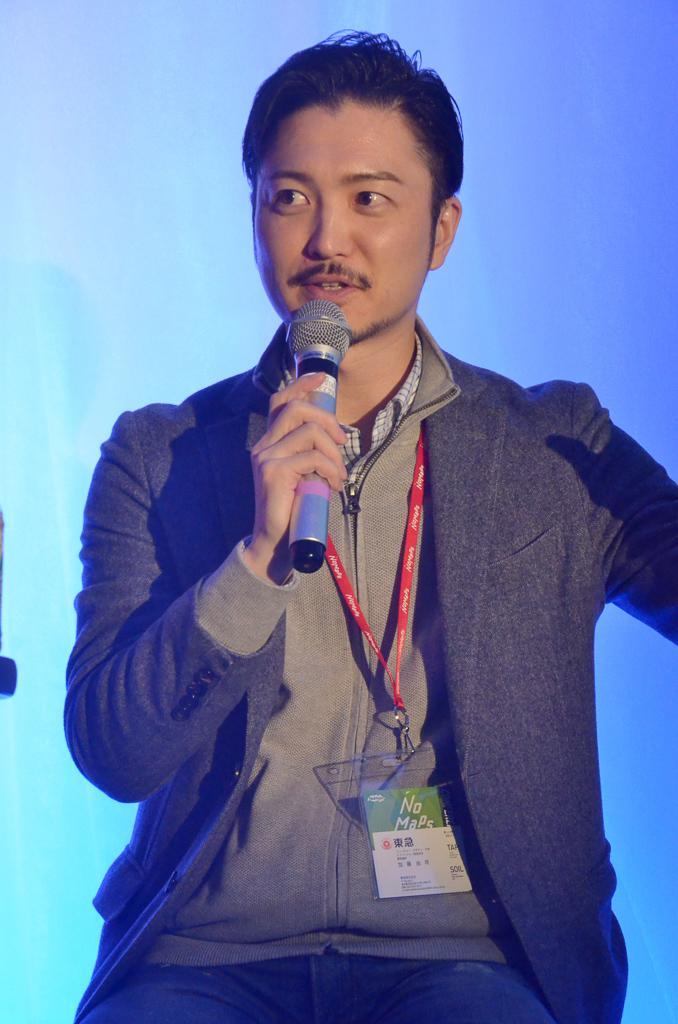 加藤 由将氏顔写真