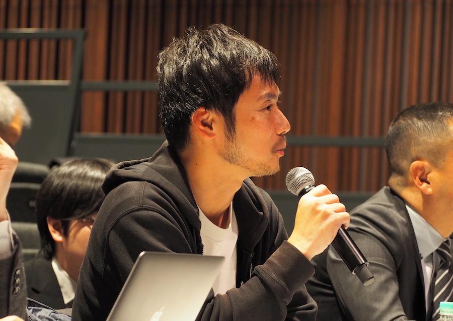 審査員である株式会社インフィニットループの吉田博紀さん