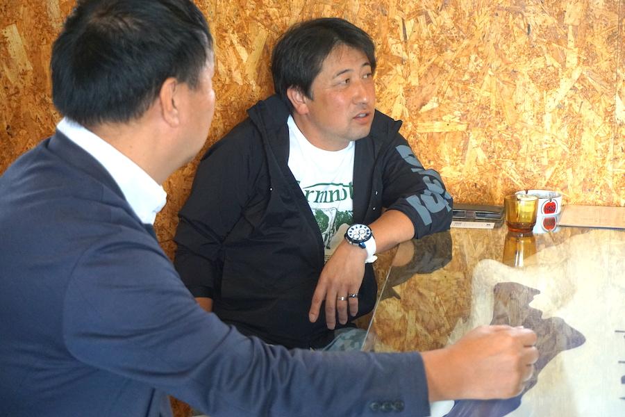 「有限会社 希望農場」を営む佐々木 大輔代表