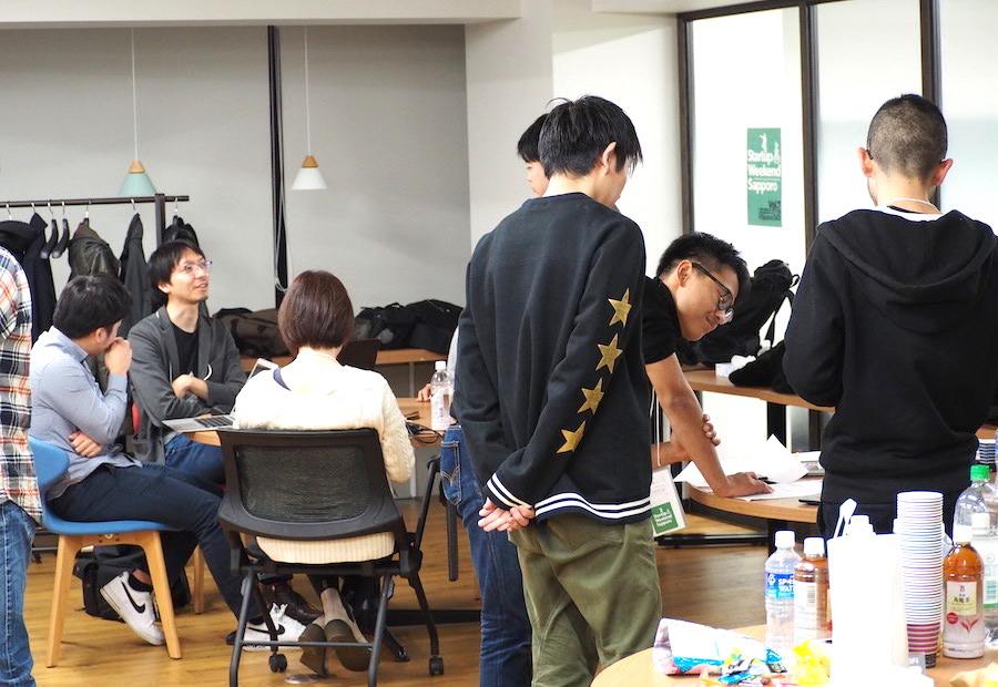 Startup Weekend Sapporo Vol.7(スタートアップ ウィークエンド サッポロ)の参加者