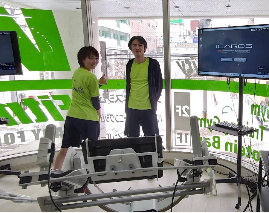 今回取材した木村綾(左)と赤沼俊幸(右)