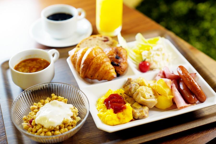 ガーデンズキャビン朝食